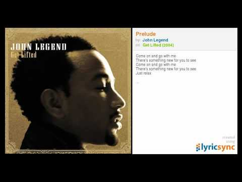 JOHN LEGEND GET LIFTED ALBUM