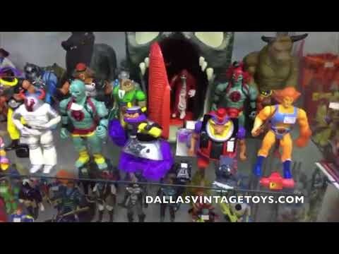 Dallas Vintage Toys Store Walkthrough! 2/10/18