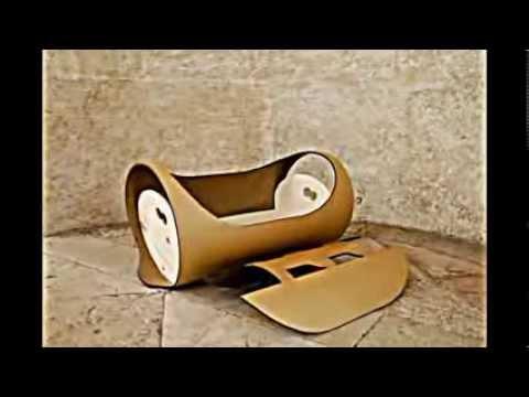 revolution res lulla baby wiege design aus rezyklierten materialien youtube. Black Bedroom Furniture Sets. Home Design Ideas