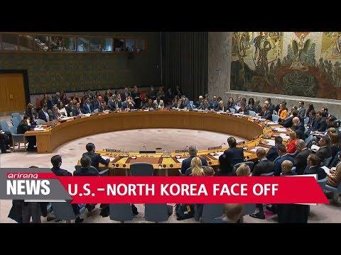U.S., North Korea clash at UN Security Council meeting