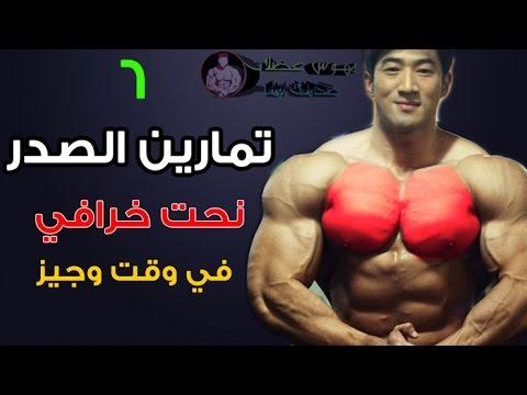 6 تمارين الصدر كمال الاجسام تضمن لك نحت خرافي في وقت وجيز - Chest Exercise Bodybuilding