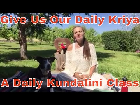 Welcome to Give Us Our Daily Kriya