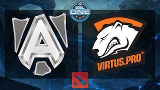 Dota 2 - Alliance vs. Virtus.Pro - ESL One Frankfurt 2015 - Quarterfinal - Game 1