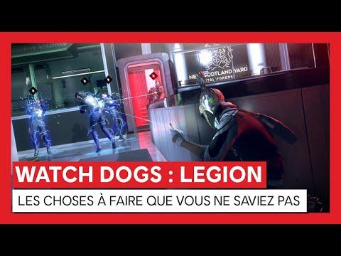 Watch Dogs : Legion - LES CHOSES À FAIRE QUE VOUS NE SAVIEZ PAS [OFFICIEL] VOSTFR