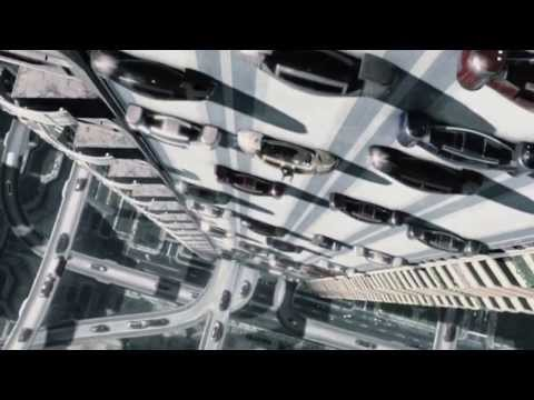 Automated cars from Minority Report