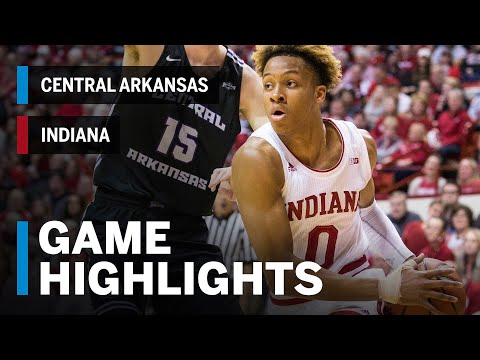 Highlights: Indiana Hoosiers vs. Central Arkansas Bears | Big Ten Basketball