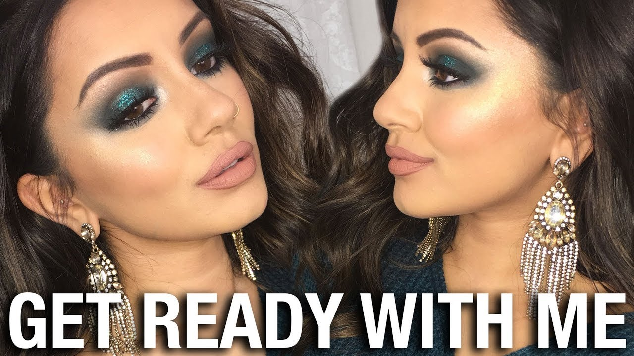 'OLD SCHOOL' GET READY WITH ME | CHRISTMAS PARTY MAKEUP TUTORIAL | KAUSHAL  BEAUTY