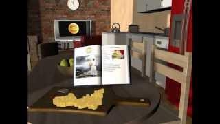 Jarlsberg Cheese Animated Sequence