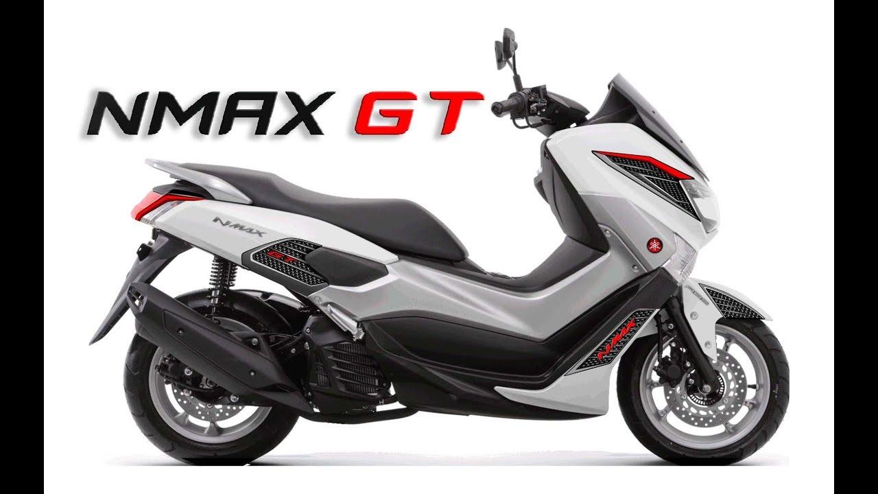 New Yamaha Nmax Gt - Review Dan Pemasangan Stiker