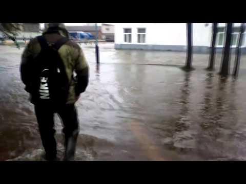 Наводнение в Кувшиново