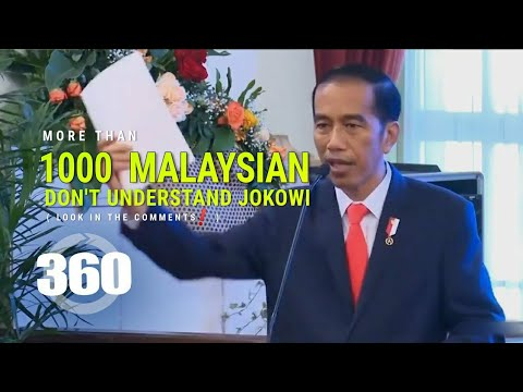 360° Indonesia kalah dengan Malaysia (Pidato Motivasi Jokowi) - VR 4K by ARTBiZ