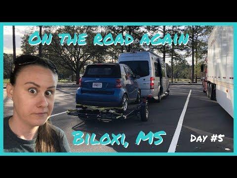 BILOXI MISSISSIPPI WINNEBAGO ROAD TRIP - DAY #5 (MARGARITAVILLE & BEACHES)