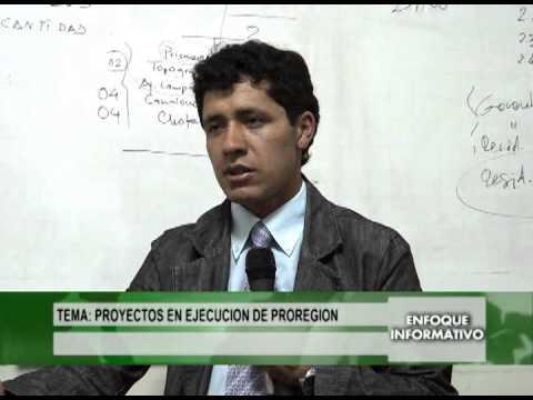 #Cajamarca, Proyectos en ejecución de PROREGION