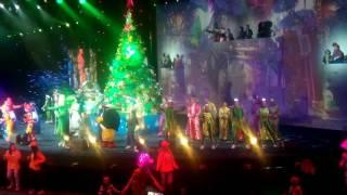 Крокус Сити холл, новогоднее представление  Фиксики 2017г