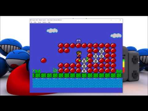 Alex Kidd In Miracle World 2 (Offical Homebrew Rom, Final Version, Trailer 2017, Soundtracks OST)