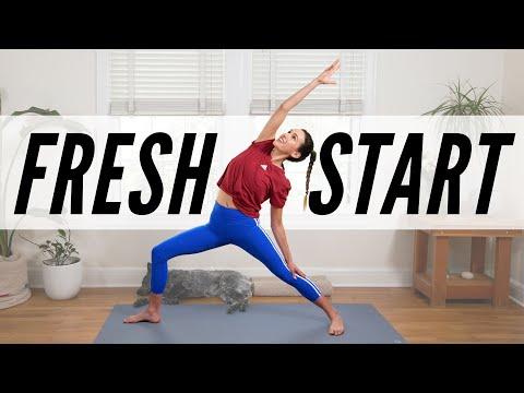 Yoga For A Fresh Start     Yoga With Adriene