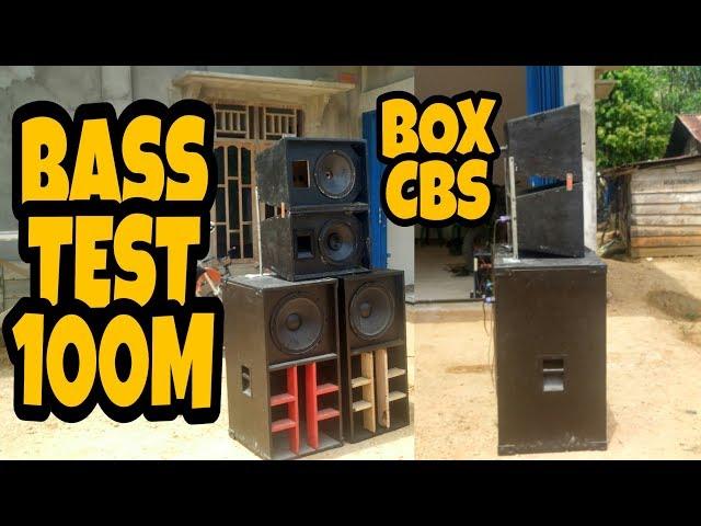 Box Speaker CBS Cukup 2 ACR 15600 Bass jedug Glerr Jauh Banget - CBS INDONESIA