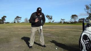 Bradley Hughes Golf- The Hit- Throwing The Ball Post Impact