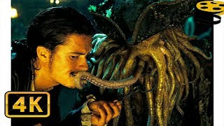 Уилл крадёт Ключ у Дейви Джонса   Пираты Карибского моря: Сундук мертвеца (2006) 4K ULTRA HD