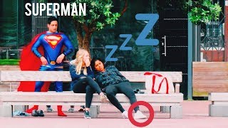 Superman Trolling In Public (Girl Gets Turned On)