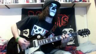 Misfits - Dig Up Her Bones/Saturday Night (Guitar Cover)