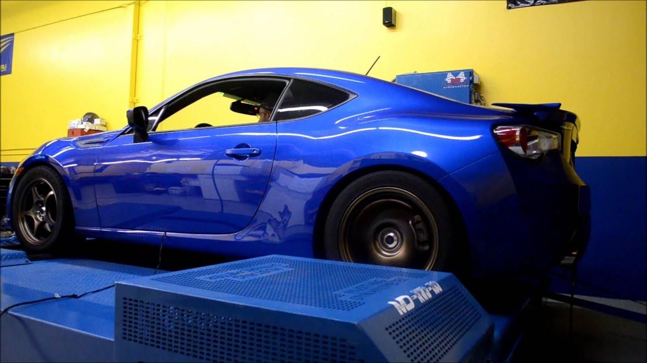 Toekneehair Subaru BRZ Dyno Run Full Blown Turbo Kit