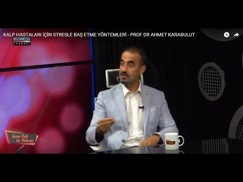 KALP HASTALARI İÇİN STRESLE BAŞ ETME YÖNTEMLERİ - PROF DR AHMET KARABULUT