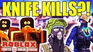KNIFE KILLS ?! - COUNTER BLOX ROBLOX OFFENSIVE - DANSK ROBLOX - [#4]