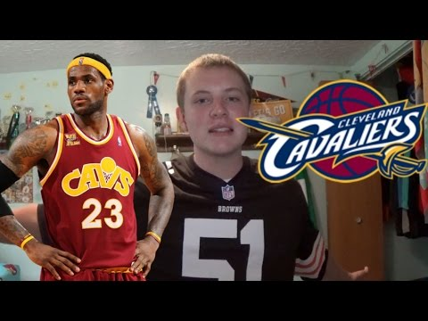 LeBron James re-signs with the Cleveland Cavaliers