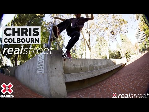 Chris Colbourn: REAL STREET 2021   World of X Games