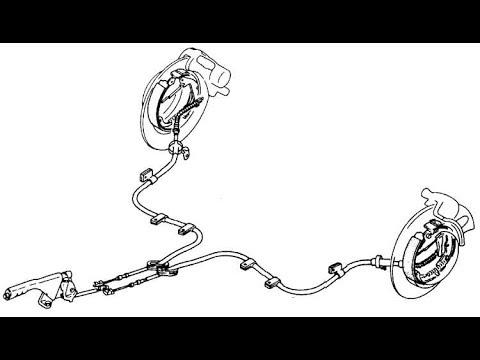 Как заменить трос ручника на Opel Astra