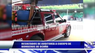 RESULTADOS DE AUIDTORÍA A CUERPO DE BOMBEROS DE OCAÑA