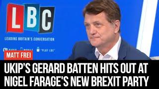 Ukip Leader Gerard Batten Interview In Full - Matt Frei - LBC