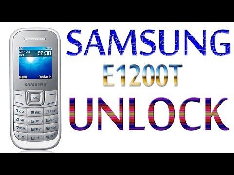 Samsung E1200T Unlock by factory reset Code