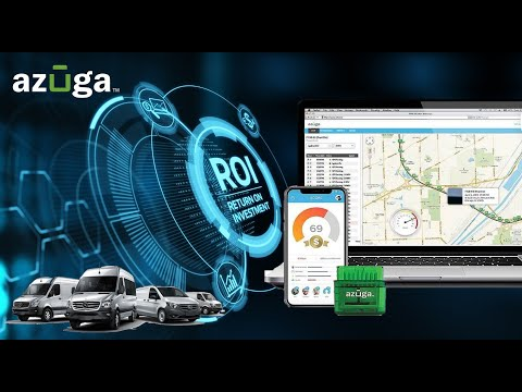 Increase Return on Investment with Azuga Fleet GPS Tracking