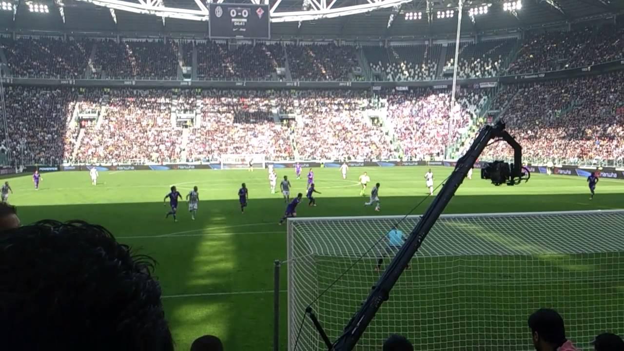 Juventus 1 0 Fiorentina Curva Sud Gol La Juve In Gol Fino