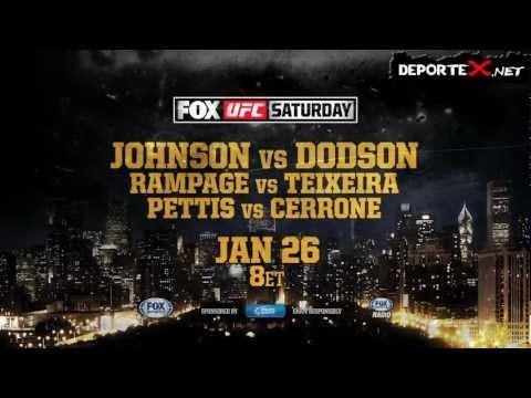 Promo UFC On FOX 6: Johnson vs Dodson [HD]