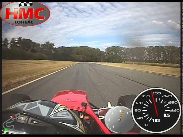 Vidéo Monoplace Formule Renault FR 2.0 Circuit de Lohéac