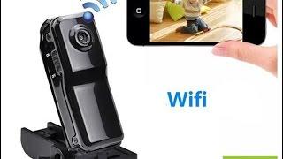 Wi-Fi мини камера((067)723-98-03 (050)723-98-03 Основные характеристики: MD81 Мини HD Wi-Fi P2P беспроводной мониторинга камеры безопасности..., 2016-06-24T07:02:34.000Z)