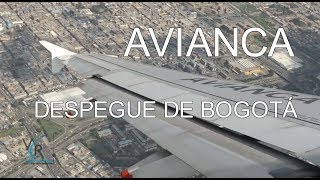 Avianca / Airbus A320 / Despegue de Bogotá / Star Alliance livery