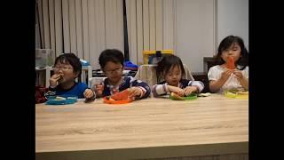 (육아일지/성장일기)사남매 수박먹방, 그리고 놀라운 장…