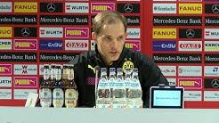 Thomas Tuchel nach dem Sieg beim VfB Stuttgart | VfB Stuttgart - BVB (0:3)