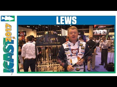 Lew's Team Custom Pro Mark Rose Ledge Rods With Mark Rose | ICAST 2017