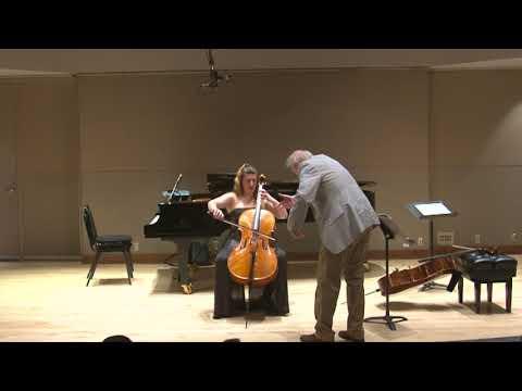 2017 Hans Jensen cello master class | Classe de maître de violoncelle de Hans Jensen