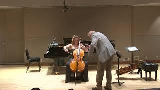 2017 Hans Jensen cello master class   Classe de maître de violoncelle de Hans Jensen