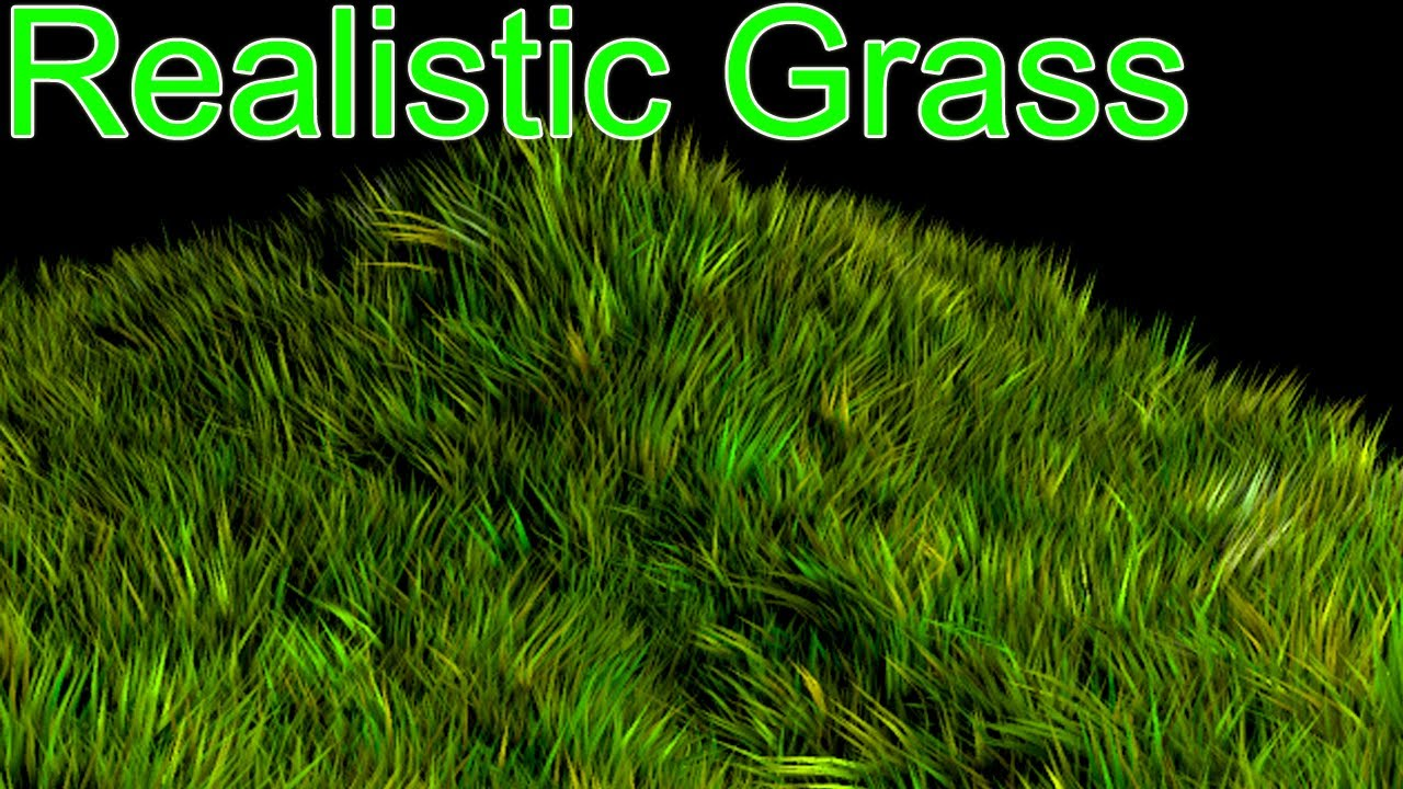 Realistic Grass In 3d Max