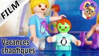 Film Playmobil en français | Emma a le mal de mer! Famille Brie en croisière | Vacances chaotiques