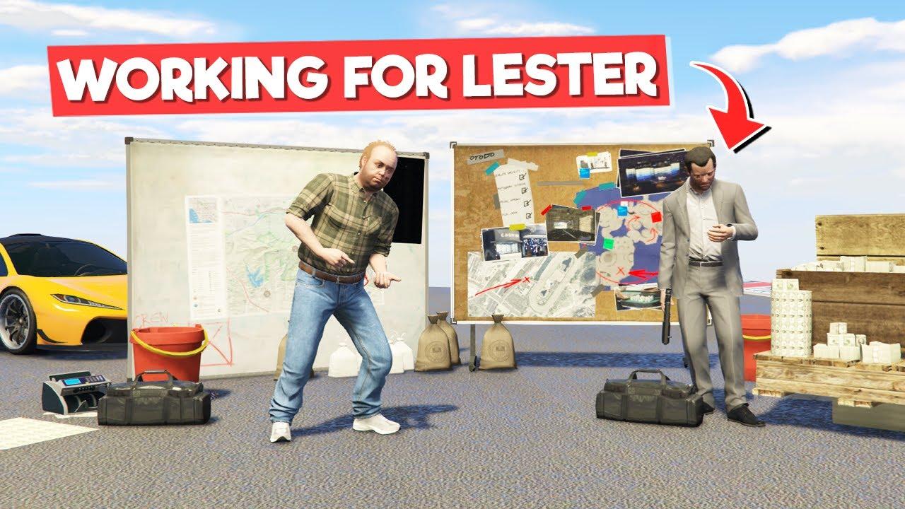 WORKING FOR LESTER TO KILL MAFIA