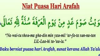 Download Video Niat Puasa Hari Arafah MP3 3GP MP4