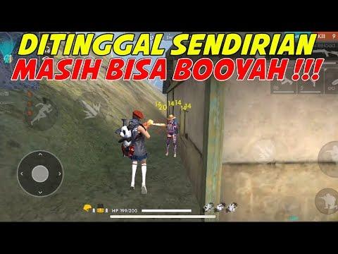 DITINGGAL SOLO BUKANNYA TAKUT MALAH TAMBAH MUKIL !!! - FREE FIRE INDONESIA